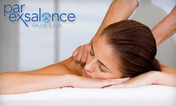 Par Exsalonce Salon & Spa - Downtown Phoenix: $39 for a 50-Minute Massage at Par Exsalonce Salon & Spa ($90 Value)