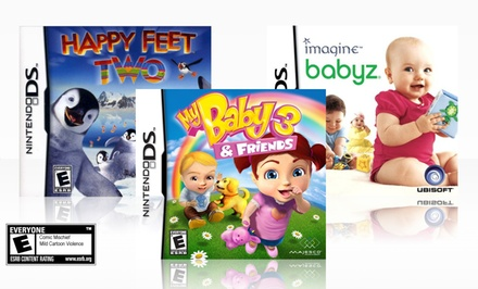 Kids' 3-Game Nintendo DS Bundle.