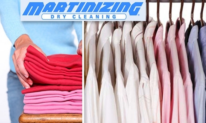 Martinizing Dry Cleaning - Multiple Locations: $9 for $20 Worth of Dry Cleaning at Martinizing Dry Cleaning