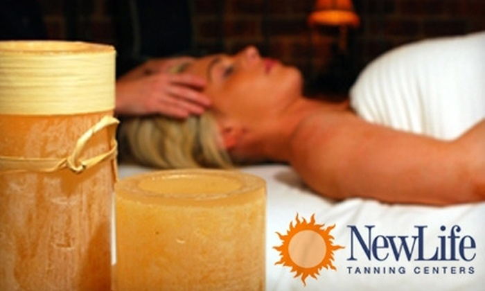 New Life Tanning Centers - Columbus: $29 for a Formostar Body Wrap at New Life Tanning Centers ($79 Value)