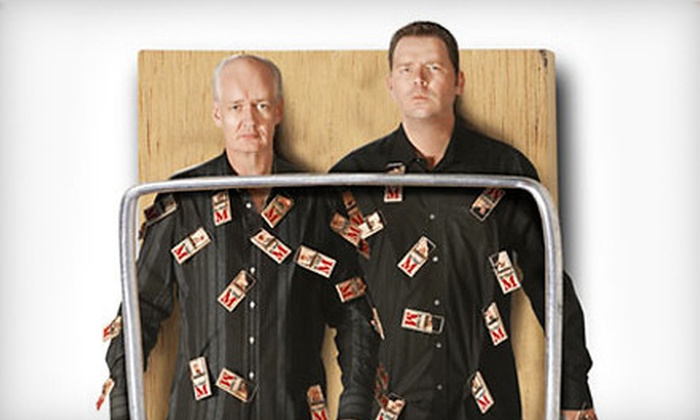 "Colin Mochrie & Brad Sherwood of ""Whose Line Is It Anyway?""  - River Bluffs: $21 for One Entry to an Improv Show with Colin Mochrie and Brad Sherwood at Rialto Square Theatre (Up to $51.25 Value)"