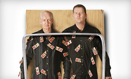 Colin Mochrie & Brad Sherwood at the Rialto Square Theatre on Sat., Dec. 10 at 8PM: Main Floor Seating - Colin Mochrie & Brad Sherwood of Whose Line Is It Anyway?  in Joliet