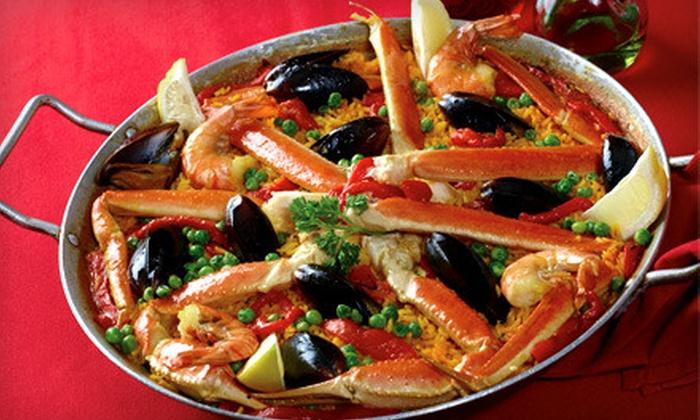 Don Quijote Restaurant - Valparaiso: $20 for $40 Worth of Spanish Fare at Don Quijote Restaurant in Valparaiso