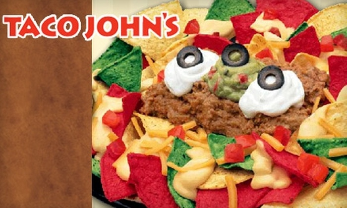 Taco John's - Multiple Locations: $5 for $10 Worth of West-Mex Fare at Taco John's