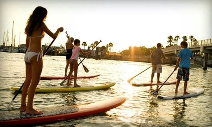 Yolo Board Adventures - Multiple Locations: $30 for Standup-Paddleboard Eco-Tour or Lesson from Yolo Board Adventures ($Up to $75 Value)