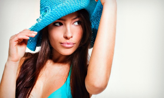 Extravaganza - 1: One or Three Full-Body Airbrush Spray Tans at Extravaganza (Up to 59% Off)