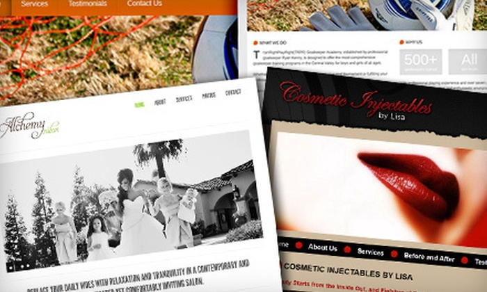 Cohesive Marketing - Hoover: $299 for a Web-Design Package from Cohesive Marketing ($625 Value)