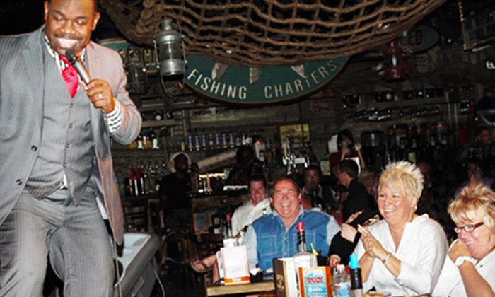 Captain Brien's Seafood & Raw Bar - City of Marco: $45 for a Comedy Show and Dinner for Two at Captain Brien's Seafood & Raw Bar in Marco Island (Up to $91.96 Value)