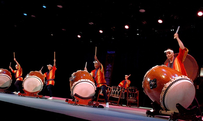 Taikoza: Japanese Taiko Drums Concert - Manhattan Movement and Arts Center: Taikoza on September 26 and 27