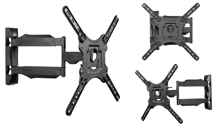 "Seneca AV Full-Motion Wall Mount for Most 32""–47"" HDTVs"