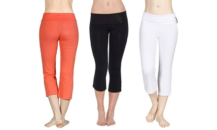 3-Pack of Yoga Capri Leggings