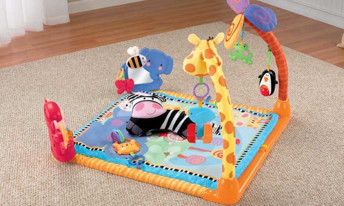 Fisher-Price Discover 'n Grow Open Play Musical Gym: Fisher-Price Discover 'n Grow Open Play Musical Gym. Free Shipping and Returns.