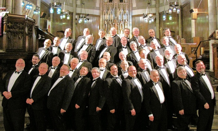 Akron Derbytown Chorus - Cuyahoga Falls High School: One, Two, or Four Tickets to the Akron Derbytown Men's Chorus Show on April 25 or 26 (Up to 56% Off)