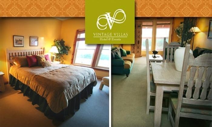 Vintage Villas Hotel and Events Center - La Hacienda Estates: $140 Toward a Room at Vintage Villas Hotel and Events Center