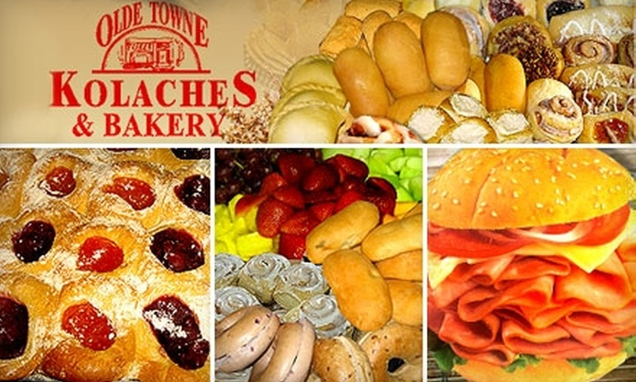 Olde Towne Kolaches & Bakery - Woodlake/ Briar Meadow: $5 for $10 Worth of Kolaches and More at Olde Towne Kolaches & Bakery's Westheimer Location