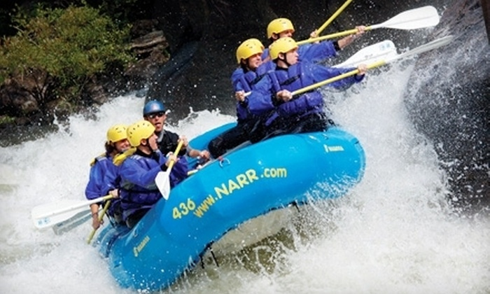 North American River Runners - Oak Hill: $99 for a Whitewater Rafting Trip with Two Nights of Camping from North American River Runners in Minden (Up to $206 Value)