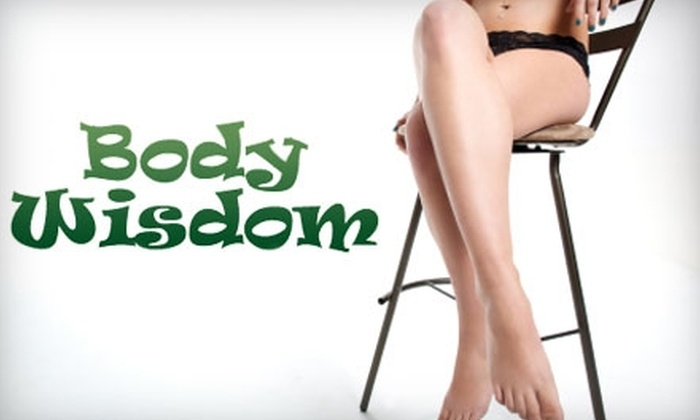 Body Wisdom - Tallahassee: $30 for Brazilian Wax at Body Wisdom of Tallahassee ($65 Value)