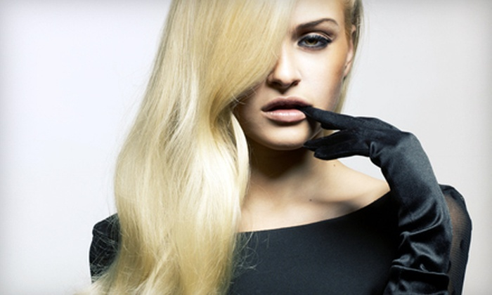 Eva Salon  - Hoboken: Keratin Treatment with One or Two Optional Follow-Up Blowouts at Eva Salon in Hoboken (Up to 80% Off)