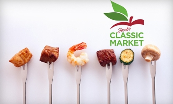 Jacob's Classic Market - Fort Lauderdale: $15 for $30 Worth of Upscale Groceries at Jacob's Classic Market in Aventura