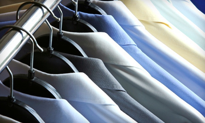 City Cleaners - Multiple Locations: Comforter Cleaning or $50 for $100 Worth of General Dry-Cleaning Services at City Cleaners