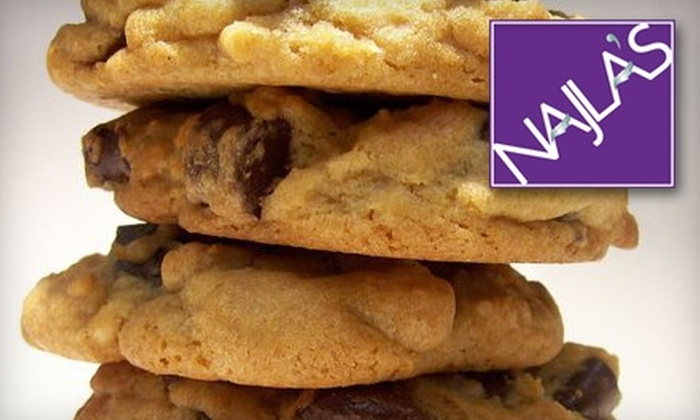 Najla's Cookies - Lyndon: $6 for a Cookie-Dough Variety Pack at Najla's Cookies ($12 Value)