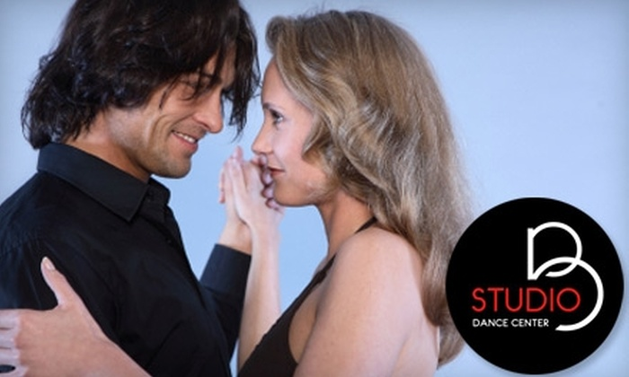 Studio B - Sixth Ward: $25 for a Couples Ticket to Sweet Heart Slow Dance Social ($50 Value) or $30 for a Couples Ballroom Dance Introductory Package ($65 Value) at Studio B Dance Center