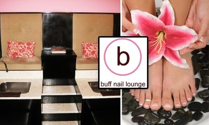Buff Nail Lounge - Downtown Toronto: $28 for $62 Worth of Nail or Waxing Services at Buff Nail Lounge