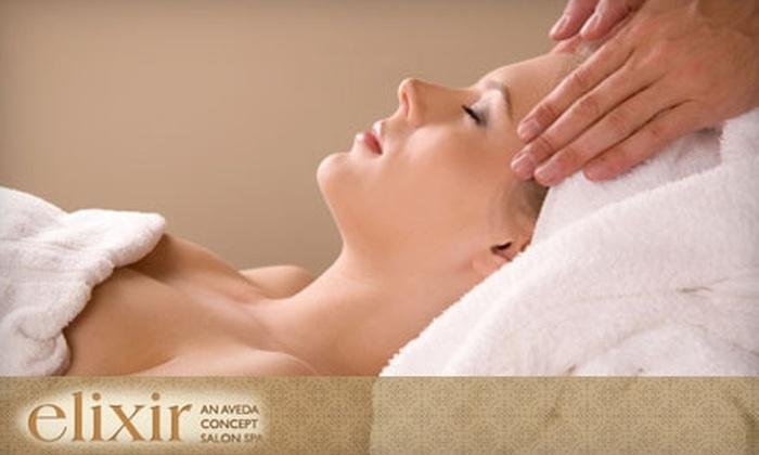 Elixir Salon - Berkeley Hills: $37 for a One-Hour Massage or One-Hour Elixir Facial at Elixir Salon in Berkeley ($75 Value)