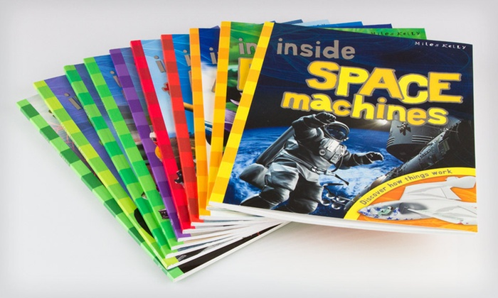 """Inside"" Series 10-Book Children's Set : $19 for an ""Inside"" Series Children's 10-Book Set ($99.90 List Price)"