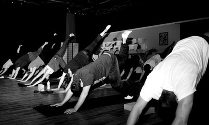 Burn Studio - Gahanna: $30 for 15 Yoga or Yoga and Cycling Classes at Burn in Gahanna ($135 Value)