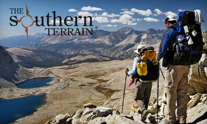 The Southern Terrain - Multiple Locations: $55 for Four-Hour Outdoor Rock-Climbing Session from The Southern Terrain ($125 Value)