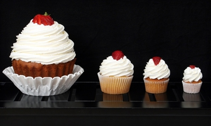 Cupcake Central - Virginia Beach: Six Classic Cupcakes, One Colossal Cupcake, or $25 for $50 Worth of Sweets at Cupcake Central in Virginia Beach (Half Off)