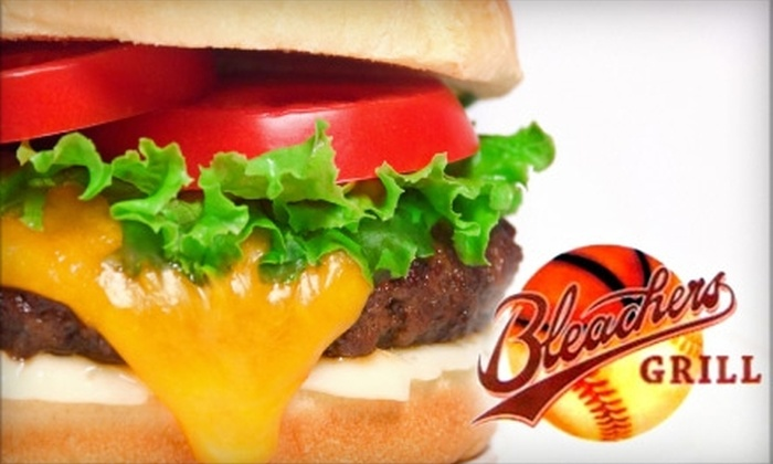 Bleachers Grill - Modesto: $10 for $20 Worth of American Fare at Bleacher's Grill