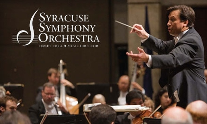"Syracuse Symphony Orchestra - Downtown: $25 for Two Tickets to the Syracuse Symphony Orchestra's ""All Mozart"" Program ($52 Value). Choose Between Two Dates."