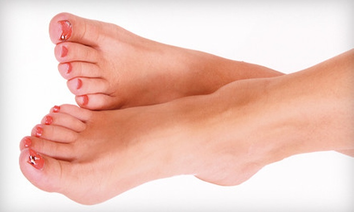 Hollywood Glam - Hollywood: $29 for a Manicure and Pedicure with Paraffin Foot Treatment at Hollywood Glam ($60 Value)