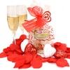 Secret of the Islands Strawberry Champagne Valentine's Day Set