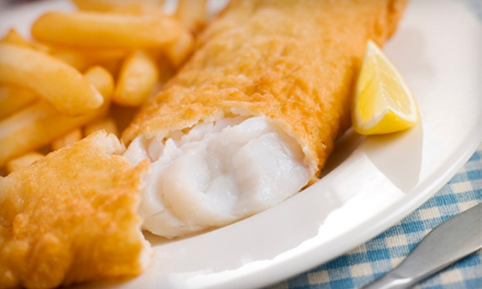 Skippers Seafood and Chowder House - Multiple Locations: $8 for a Seafood or Chicken Meal with a Drink for Two at Skippers Seafood and Chowder House ($15.76 Value)