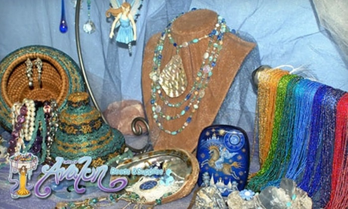 Gifts of Avalon - Gainesville: $10 for $20 Worth of Beads, Jewelry Supplies, and Artisanal Jewelry at Gifts of Avalon