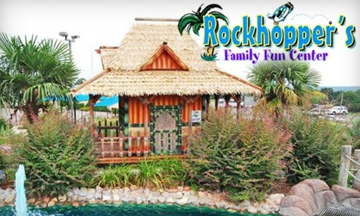 Rockhopper's Family Fun Center - Marble Falls: $8 for Unlimited Golf, Two Hours of Unlimited Games, and Two Mini Bowling Games for One Person at Rockhopper's Family Fun Center in Marble Falls ($16 Value)
