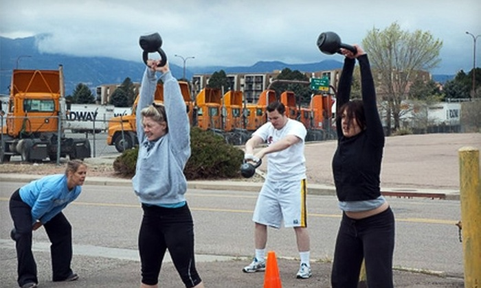 CrossFit Pandora's Box - Northeast Colorado Springs: $29 for 10 CrossFit Classes at CrossFit Pandora's Box ($120 Value)