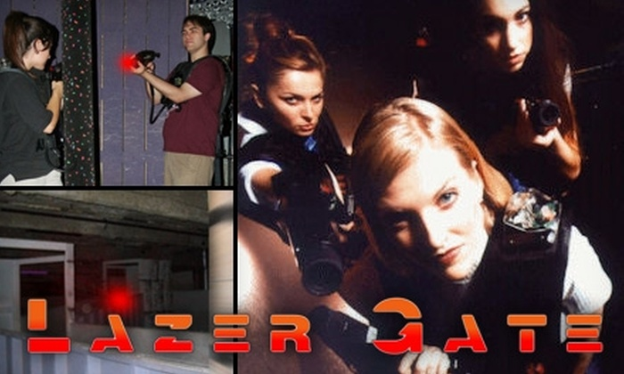 Lazer Gate - Fall River: $8 for Three Games of Multi-Level Laser Tag at Lazer Gate in Fall River ($16 Value)
