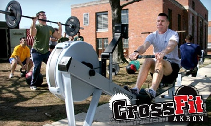 CrossFit Akron - Wallhaven: $29 for 29 Drop-In Classes at CrossFit Akron ($349 Value)