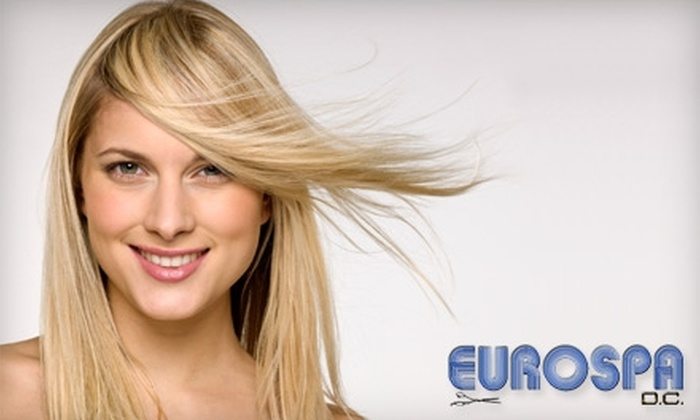 Eurospa - Dupont Circle: $74 for a Women's Haircut Plus Color or Full Highlights at Eurospa (Up to $180 Value)