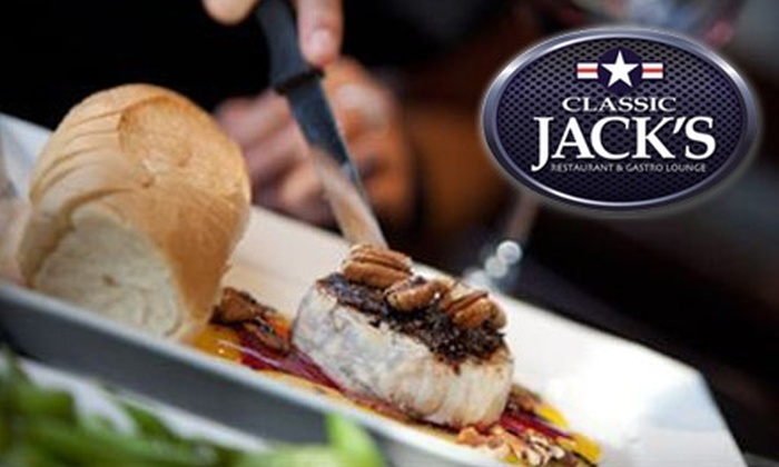 Classic Jack's - Mont royal: $10 for $20 Worth of Tapas, Pizza, and More at Classic Jack's