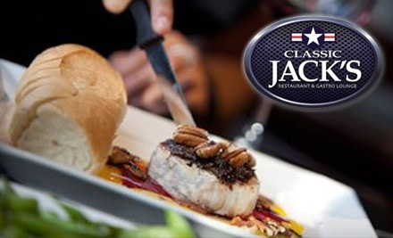 $20 Groupon to Classic Jack's - Classic Jack's in Calgary