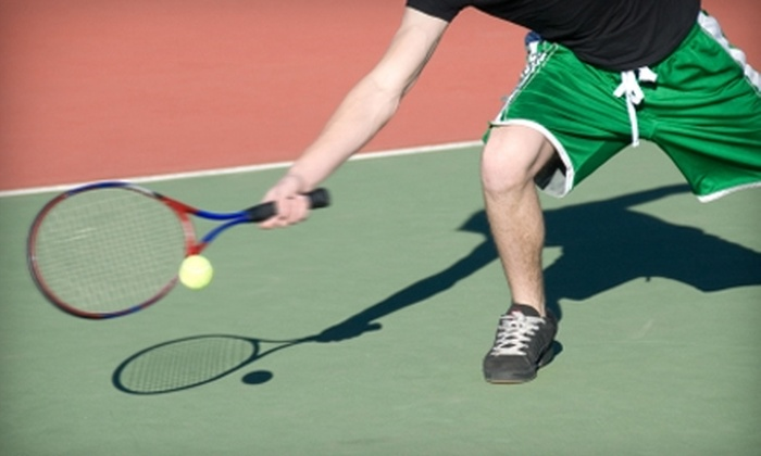 Blakeney Racquet and Swim Club - Charlotte: $50 for Four Group Tennis Lessons at Blakeney Racquet and Swim Club (Up to $100 Value)