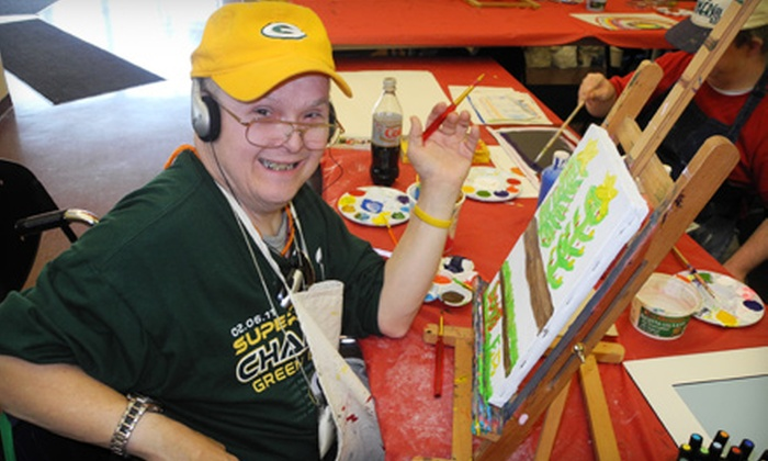VSA Wisconsin - Sherman: If 36 People Donate $10, Then VSA Wisconsin Can Supply Visual-Art Supplies for Adults with Disabilities