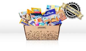 MyCouchbox: Snack-Überraschungsbox mit Markenprodukten von mycouchbox.de