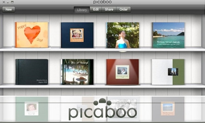 Picaboo - Edmonton: $35 CAN for $100 USD Worth of Photo Books, Cards, and Calendars at Picaboo