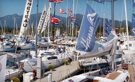 The 5th Annual Boat Show at the Creek from Sept. 22-25 - The 5th Annual Boat Show at the Creek in North Vancouver